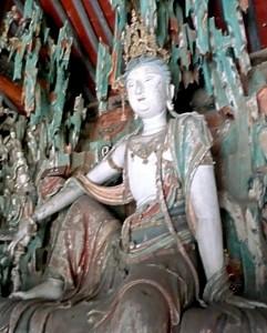 Guanyin, der Bodhisattva der Barmherzigkeit